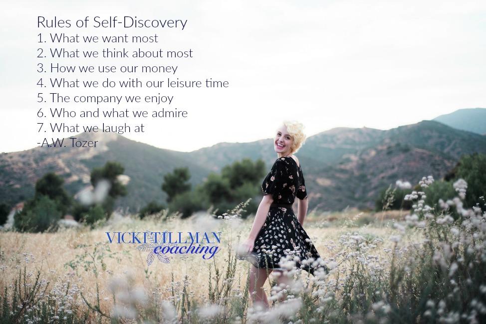Rules of Self-Discovery VickiTillmanCoaching.com