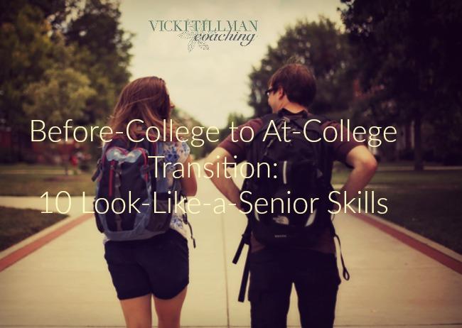 College Skills VickiTillmanCoaching.com