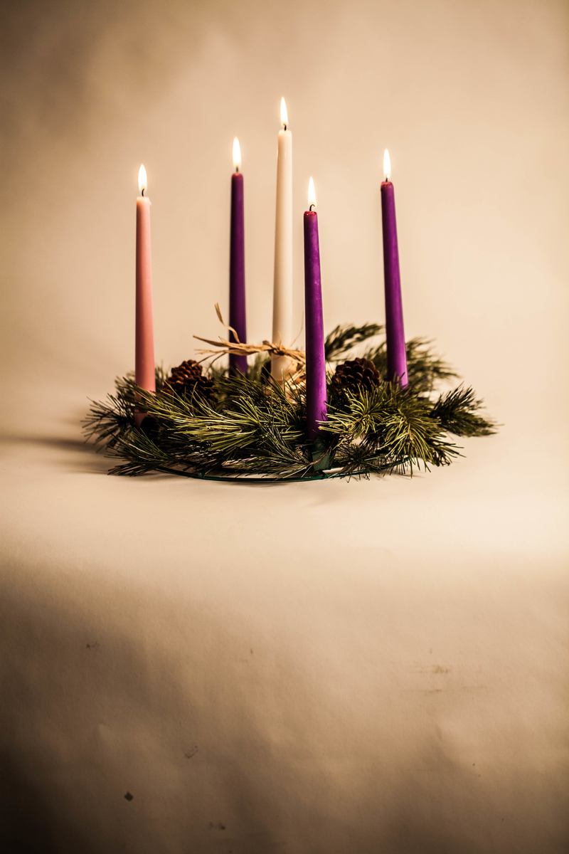 Small Christmas Candles
