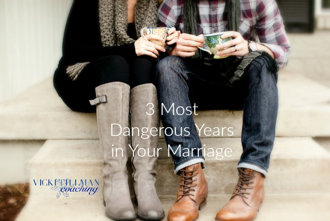 3 Most Dangerous Years That Can Risk Your Marriage VickiTillmanCoaching.com