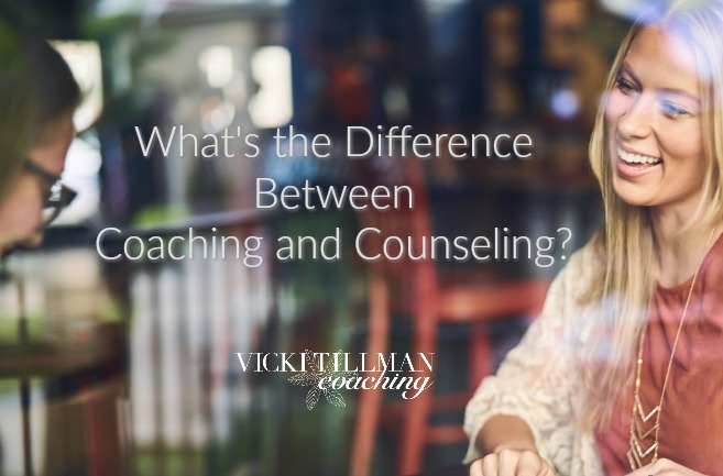 What's the Difference Between Coaching and Counseling? VickiTillmanCoaching.com
